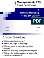 Marketing Management, 12/e a South Asian Perspective