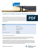 Reference Case Golden-Joint-Inspection Pipeline Netherlands TUV Rheinland