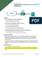 8.2.5.4 Lab - Identifying IPv6 Addresses