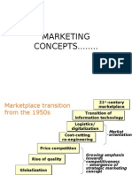 Marketing Concepts........