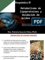 9. Lipoproteínas y Oxidación de Ac. Grasos 2014