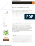 Malaysian Biodiesel Association (MBA) _ Member _ RSPO - Roundtable on Sustainabl