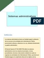 Sistemas Aministrativos Del Estado- 24 Agost