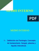 Fisiologia Medio Interno Tema 1