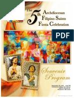 Fsfc 2015 Souvenir Program