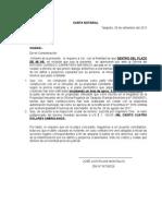 Carta Notarial-josé Luis Rojas Montalvo