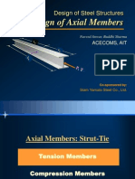 Design of HRS - Axial Members