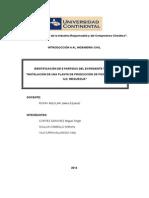 Identificacion de Partidas Para Expediente Tecnico