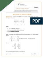 Sem 7-Sistemas Ecuaciones Lineales