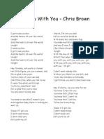 Lirik Lagu Barat
