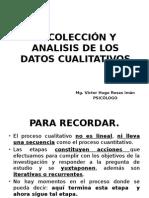 Recolección y Analisis de Los Datos Cualitativos