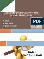 Presentasi_STRATEGI PENURUNAN AKB_mini Project_Puskesmas Banua Padang-Tapin_26nov2013