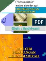 Ciri Muhammadiyah 13-8-2014