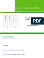 Distribucion de dosis absorbida