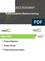 Roadmap Authorization Restructuring