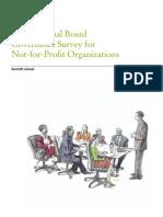NFP Board Governance Survey 2009