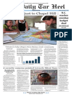 The Daily Tar Heel for Sept. 15, 2015