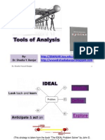 Tools of Analysis I,Presented by Dr. Shadia Yousef Banjar