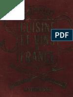 Curnonsky 1953 Larousse Cuisine Et Vins de France 17Mo.1000.Pages