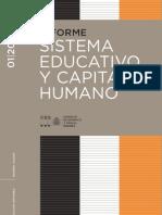Sistema Educativo y Capital Humano