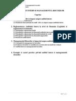 Suport Curs Audit Intern Si Managementul Riscurilor