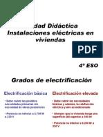 Unidad Didáctica Instalaciones Eléctricas en Viviendas