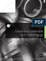 Galvanised Malleable Iron Pipe Fitting