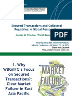 Secured Transactions and Collateral Registries a Global Perspective