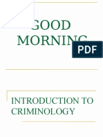 Copy of Introduction to Criminology