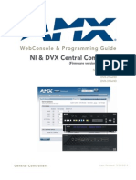 NetLinxControllers.webconsole ProgrammingGuide.fmv4