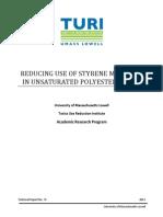 Safer Alternatives to Styrene Polyester