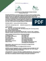 cal fire grant training program - summary for  recruitment