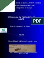 Tratamento de Águas Industriais 2014