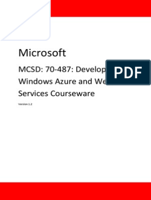 Mcsd Web Applications Certification Windows Azure Web Services Entity Framework Language Integrated Query