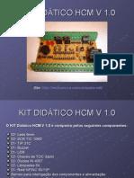 KIT DIDÁTICO HCM V 1.0