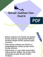 Batuan Sedimen Non-Klastik
