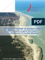 Rapport du CESER sur la protection du littoral