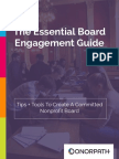 Nonprofit Board Engagement Guide