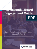 Nonprofit Board Engagement Guide