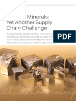 Conflict Minerals - Another Supply Chain Challenge