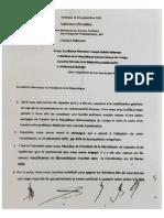 Lettre à Joseph Kabila