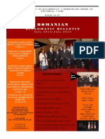 ROMANIAN DIPLOMATIC BULLETIN-ROMANIA IN INTERNATIONAL RELATIONS