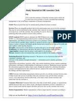 Marketing Study Material