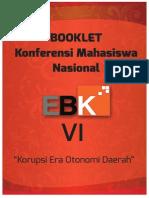Booklet Konferensi EBK