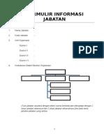 Formulir Analisis Jabatan 2015
