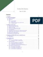 Cosmo Feedback File Definition