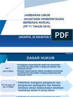 Gambaran Umum Standar Akuntansi Pemerintah Berbasis Akrual