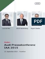 Reden 66. IAA 2015