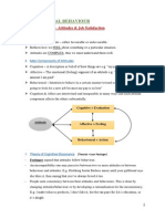 Organisational behaviour Summary - Chapter 4