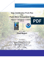 Slope Stabilization Work Plan For Poplar River Management Board (306-16-08)